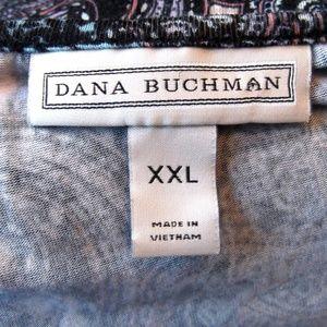 Dana Buchman Tops - Dana Buchman Paisley Top Size XXL